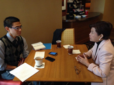 Interview with Cheche Lázaro, distinguished Philippine Journalist, in 2014.